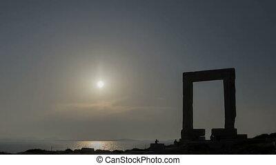 Timelapse Naxos Gate