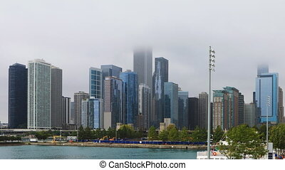Timelapse of Chicago from Navy Pier - A Timelapse of Chicago...