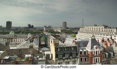 Timelapse of city buildings, London, England - Time lapse ...