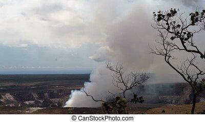 Timelapse of Kilauea volcano