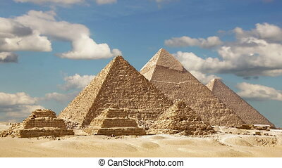 Timelapse Of The Great Pyramids