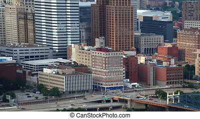 Timelapse of the Pittsburgh downtown - A Timelapse of the...