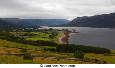 Timelapse overlooking Ullapool in Scotland - A Timelapse...