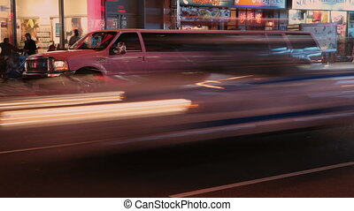 Pink Limousine in New York