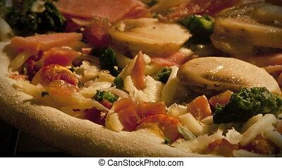 Timelapse Pizza in Oven - Timelapse of Pizza baking full...