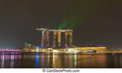 Timelapse - Singapore Marina Bay