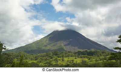 Timelapse video of Arenal