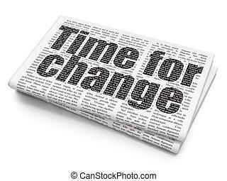 timeline, concept:, fondo, tempo, giornale, cambiamento