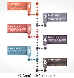 Timeline Design - Timeline design template, vector eps10...
