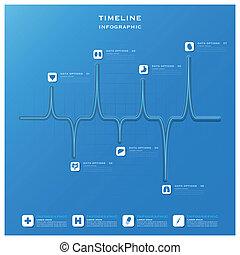 Medical line design infographic template medical infographic timeline health and medical infographic design template maxwellsz