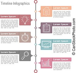 timeline, infographics