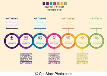 timeline, prezentacja, wykres, postęp