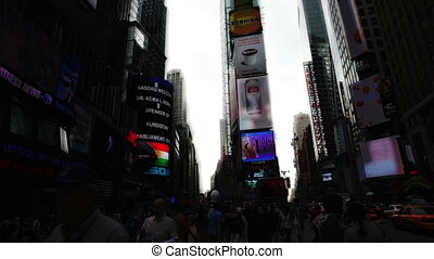 timelpase, carrée, york, nouveau, temps
