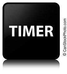 Timer black square button