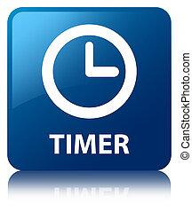 Timer blue square button