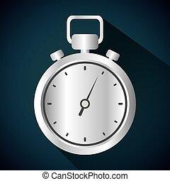 Timer clock icon design