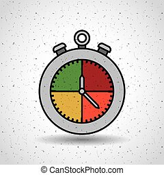 timer icon design , vector illustration