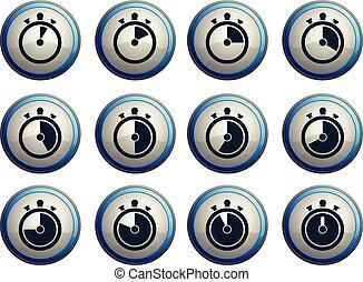 Timer Icon Set