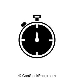Timer icon. Vector illustration