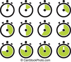 Timer icons
