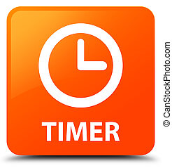 Timer orange square button