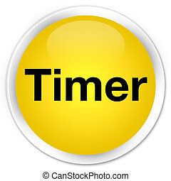 Timer premium yellow round button