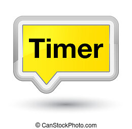 Timer prime yellow banner button