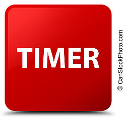 Timer red square button