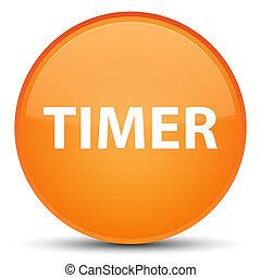 Timer special orange round button