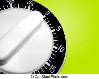 Timer - Basic Kitchen Timer on Green