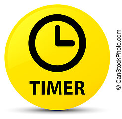 Timer yellow round button