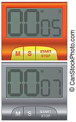 timer(8).jpg - two convenient household timer in different...