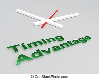 Timing Advantage concept