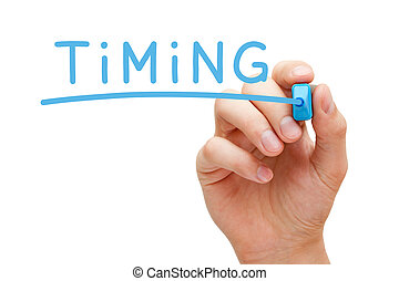 Timing Blue Marker