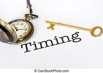 Timing Is Everything - A concept of management on how timing...
