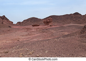 timna national park in israel