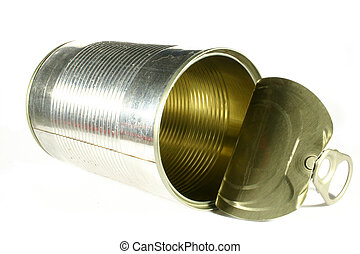 Tin Can on its side