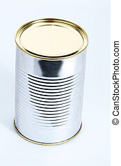 Tin can - Ready to open tin can
