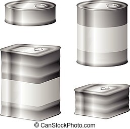 Tin conserve can set