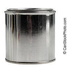 Tin paint can