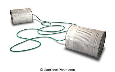 tin, telefoons