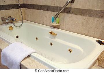 tina, baño