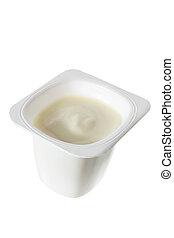 tina, yogur