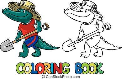 tinja livro, crocodile-farmer.