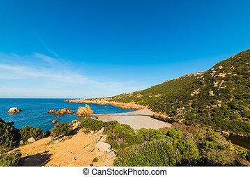 Tinnari beach on a sunny day