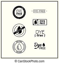 tinta, libero, icone