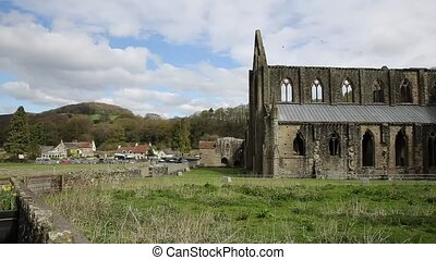 Tintern Abbey Chepstow Wales uk