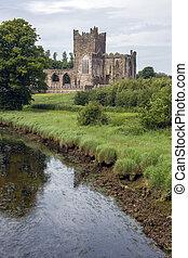 Tintern Abbey - County Wexford - Ireland. - Tintern Abbey - ...