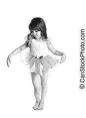tiny dancer - Tiny little dancer holding her pose.