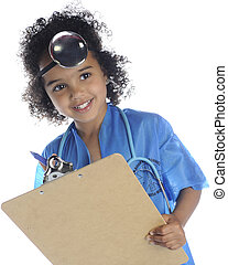 """Tiny Doc with Clipboard - An adorable preschool """"doctor"""" ..."""